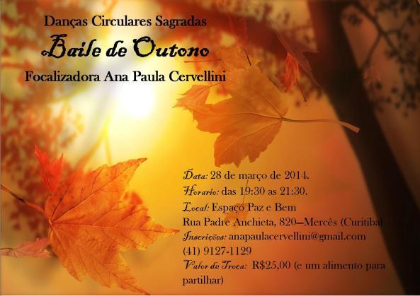 Danças Circulares- Baile de Outono!