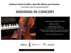 Ultimo Wedding in Concert de 2015!!!