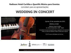 Ultimo Wedding in Concert de 2015!!!