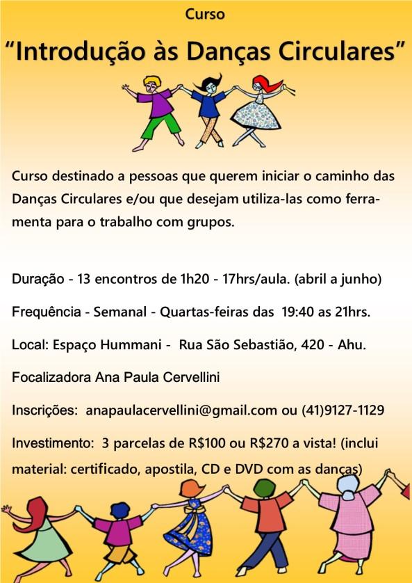 Curso Introdução as Danças Circulares - Hummani-