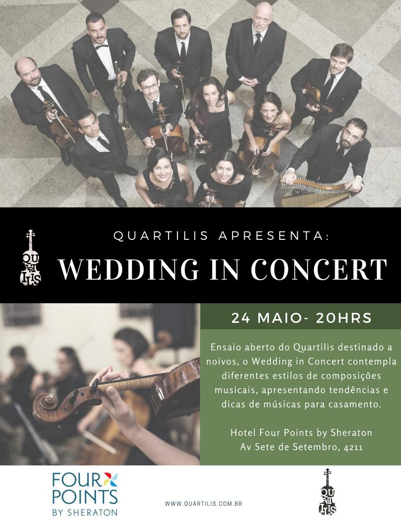 Wedding in Concert 24 de maio de 2018